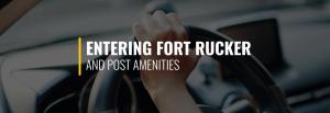 Entering Fort Rucker