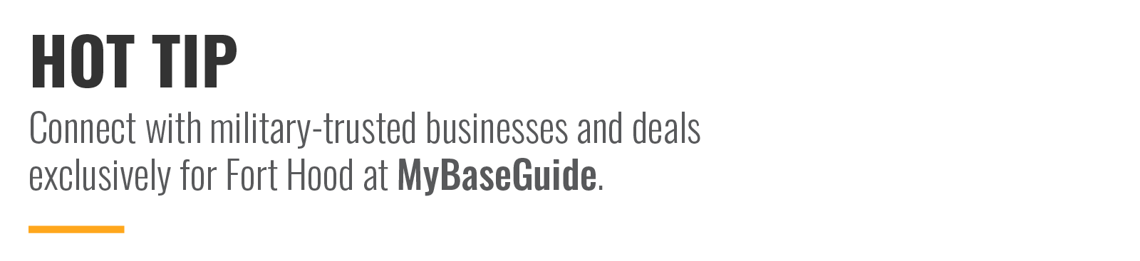 Connect with military-trusted businesses and deals exclusively for Fort Bliss