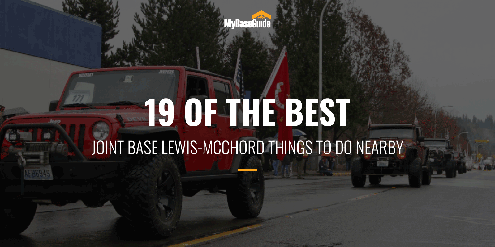 best Things to DO JB Lewis McChord