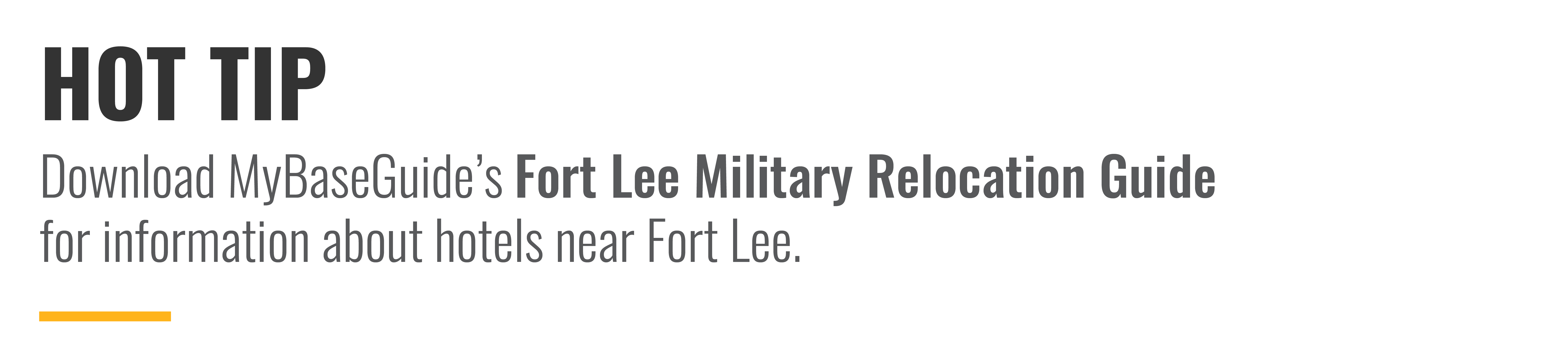 Download MyBaseGuide's Fort Lee Military Relocation Guide