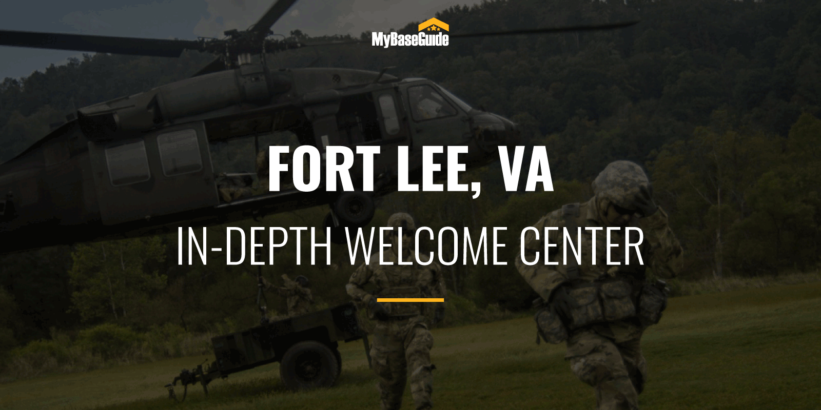 Fort Lee In-Depth Welcome Center