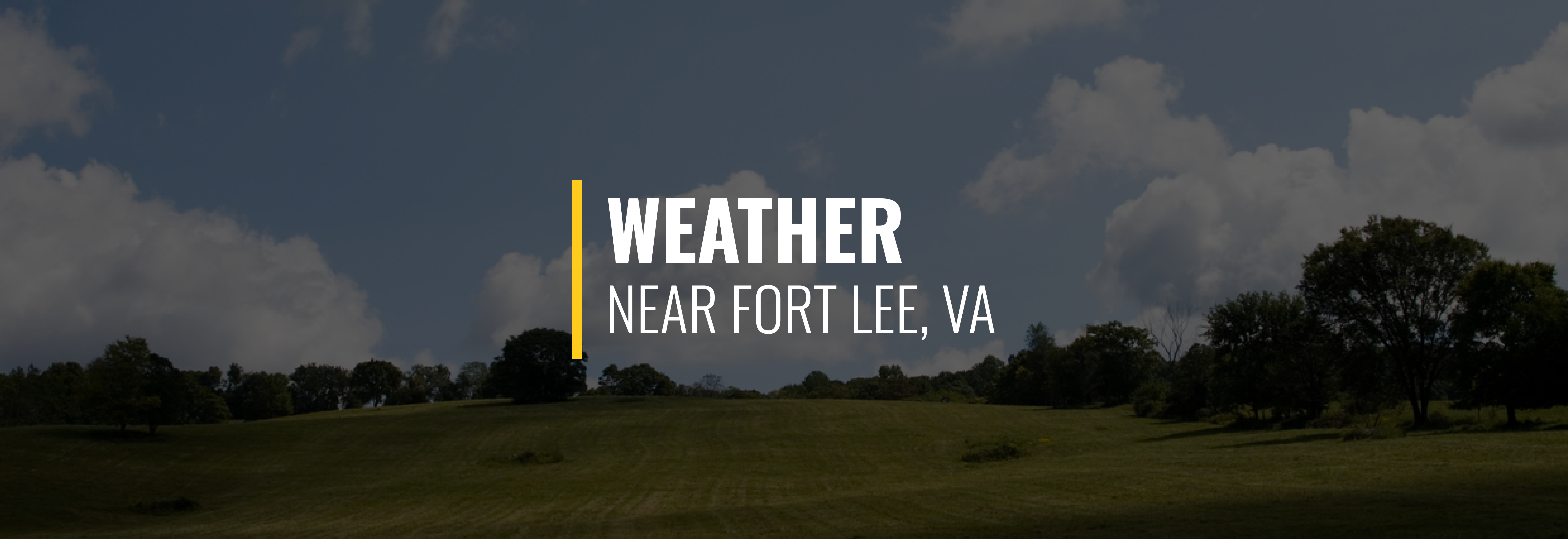 Fort Lee Weather