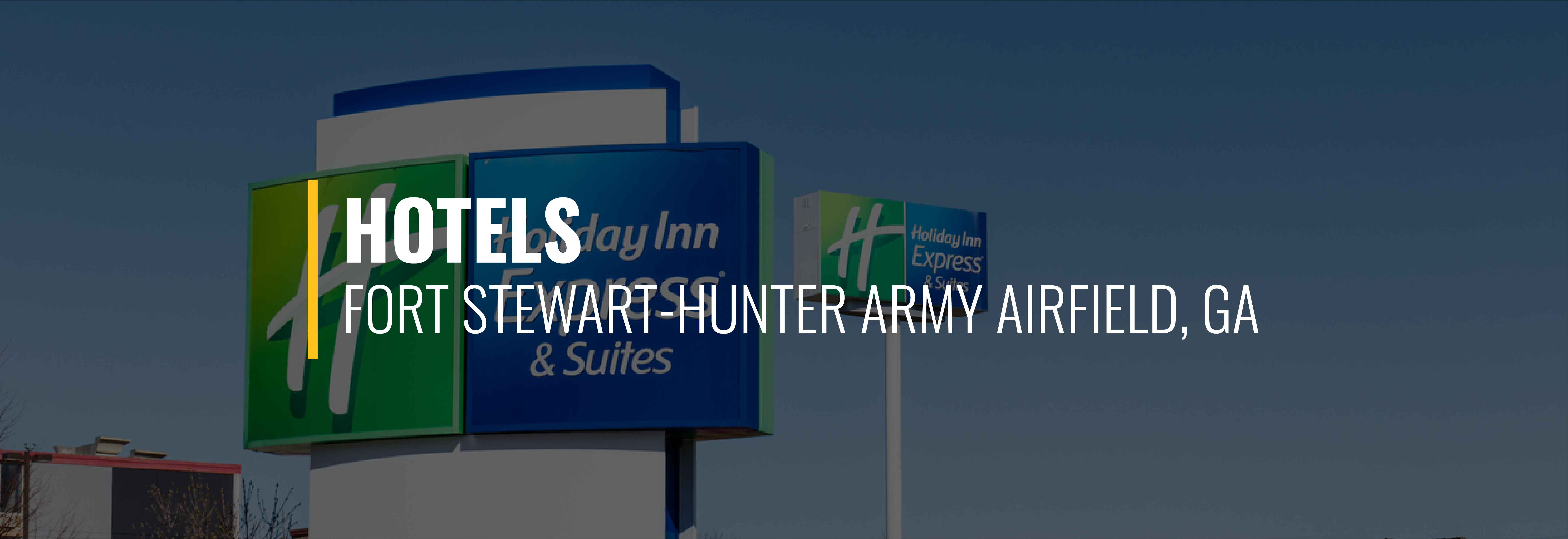 Fort Stewart-Hunter Army Airfield Hotels