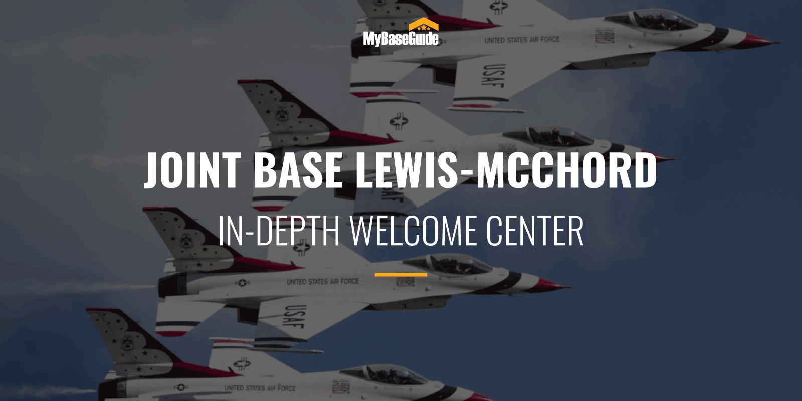 Joint Base Lewis McChord In-Depth Welcome Center