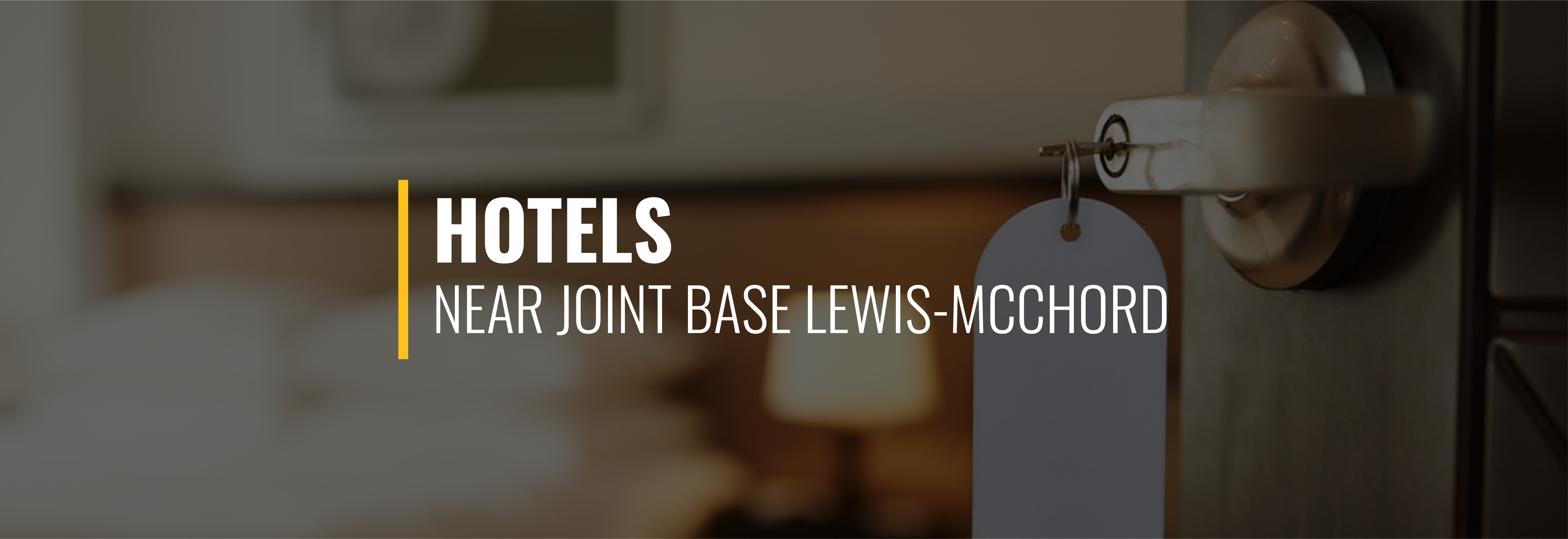 Joint Base Lewis-McChord Hotels