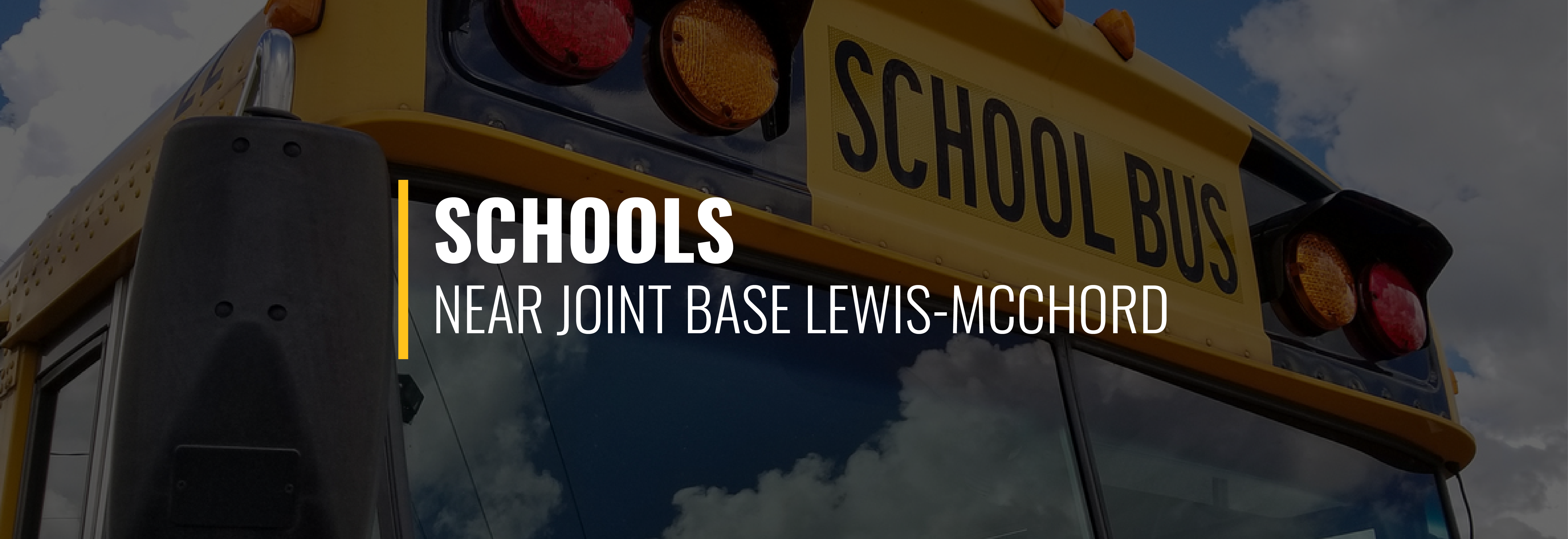 Joint Base Lewis-McChord Schools