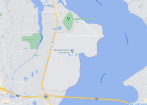 Naval Air Station Jacksonville Installation Map