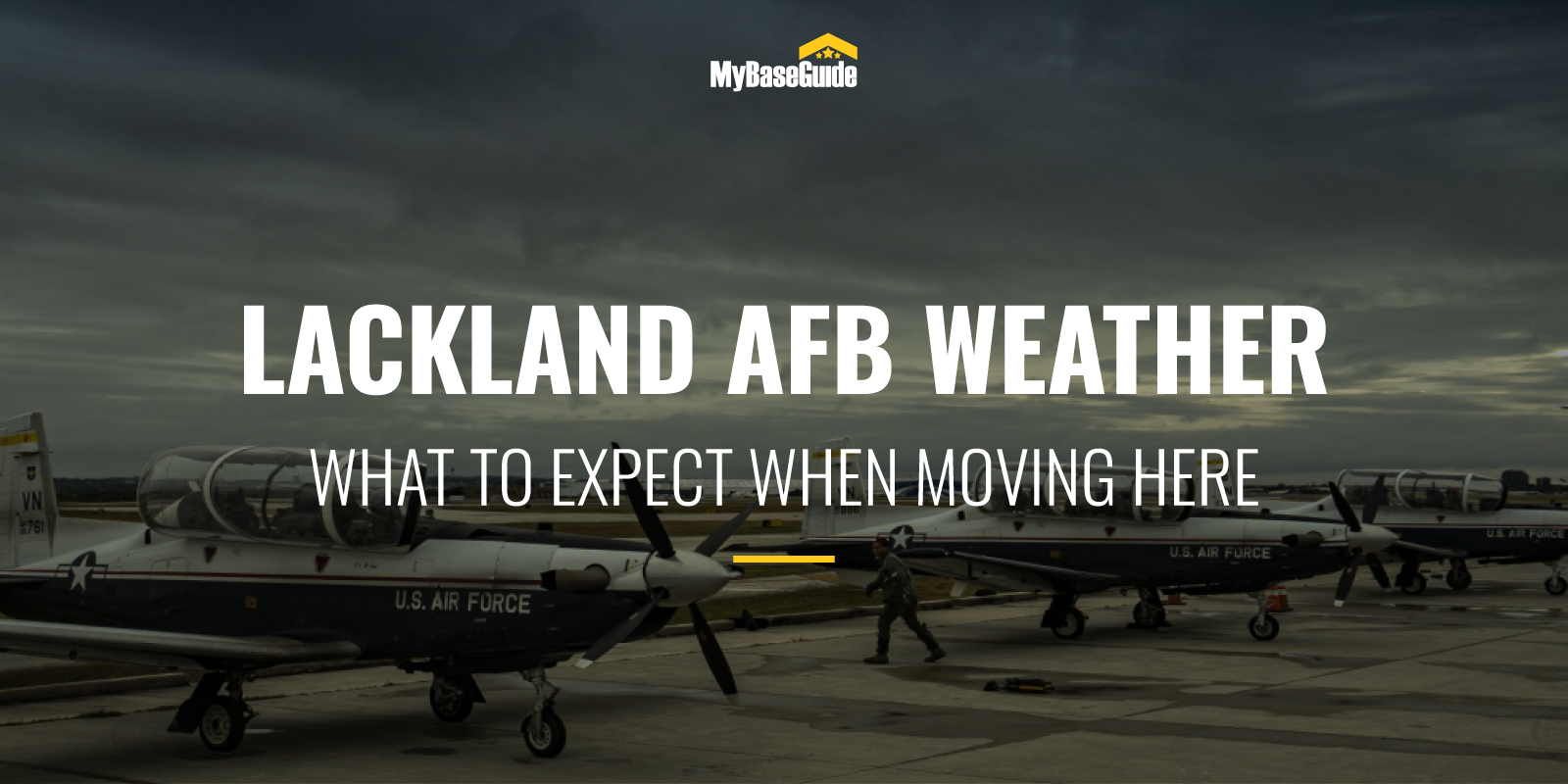 Lackland AFB Weather: What To Expect When Moving Here
