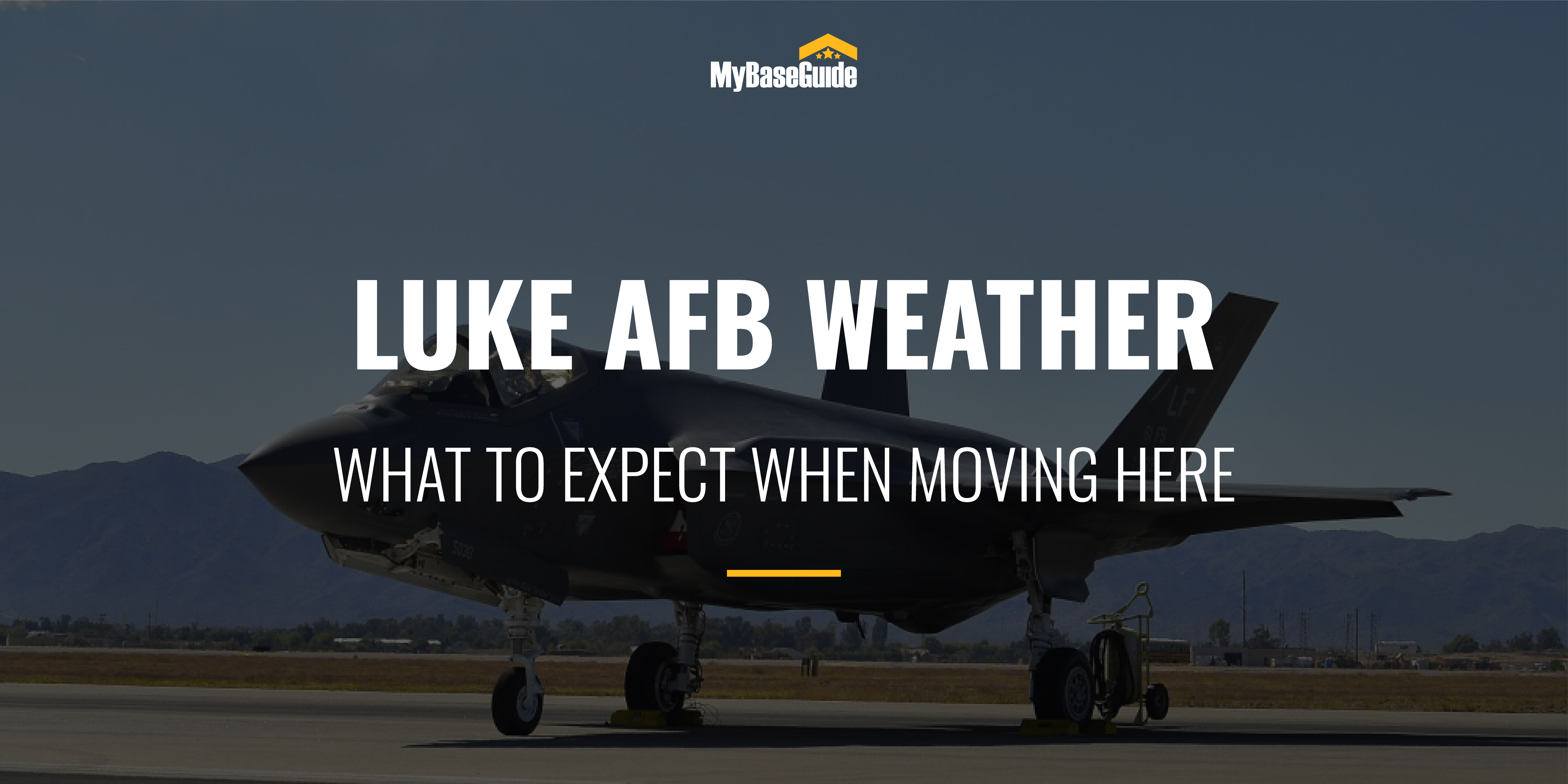 Luke AFB Weather: What To Expect When Moving Here