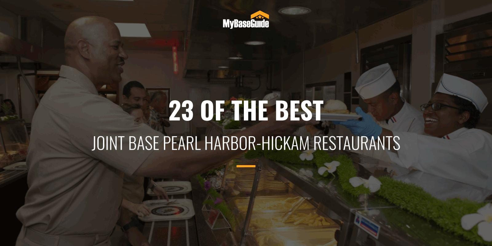 best Restaurants JB Pearl Harbor-Hickam