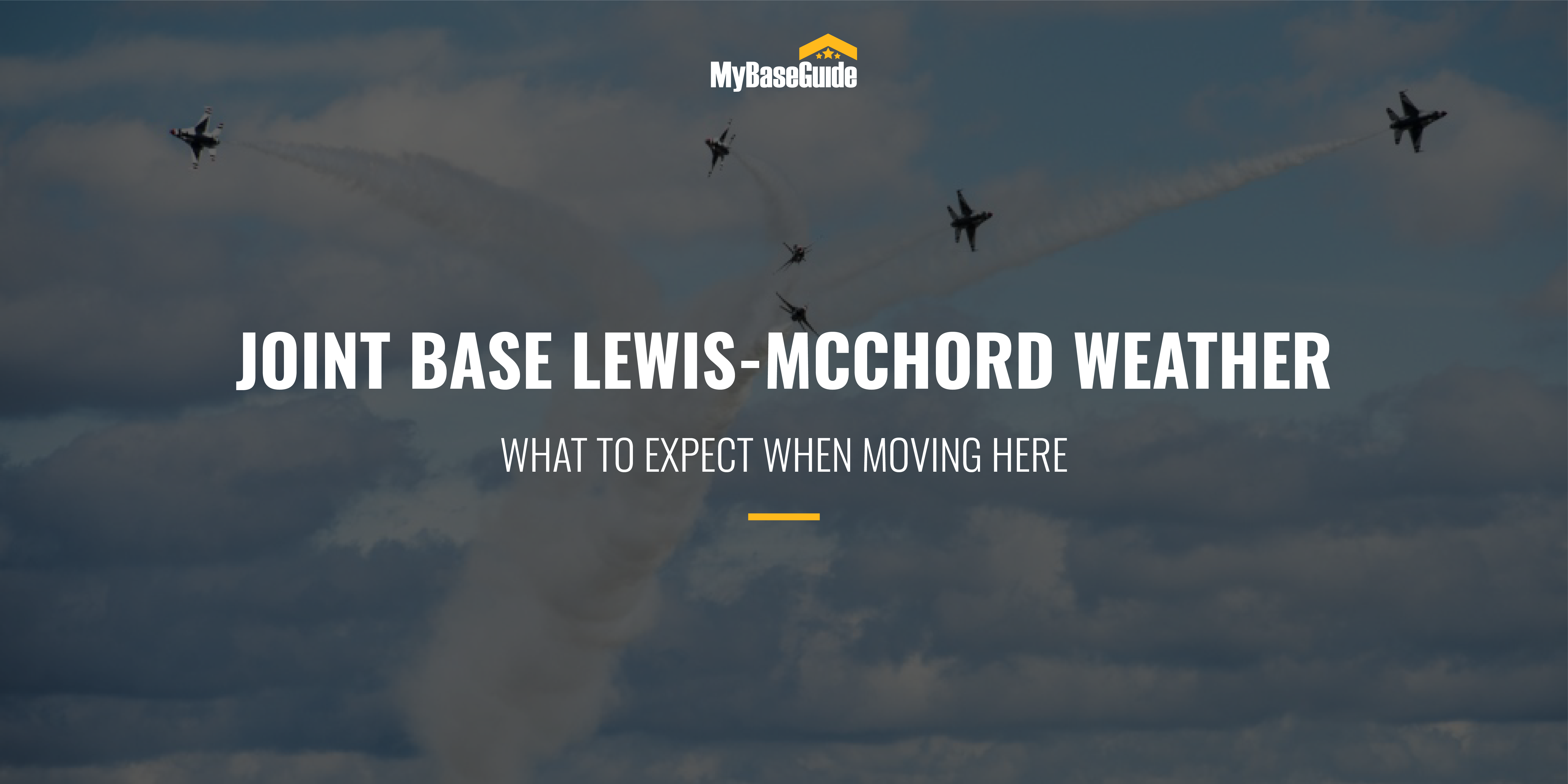JBLM Weather: What To Expect When Moving Here