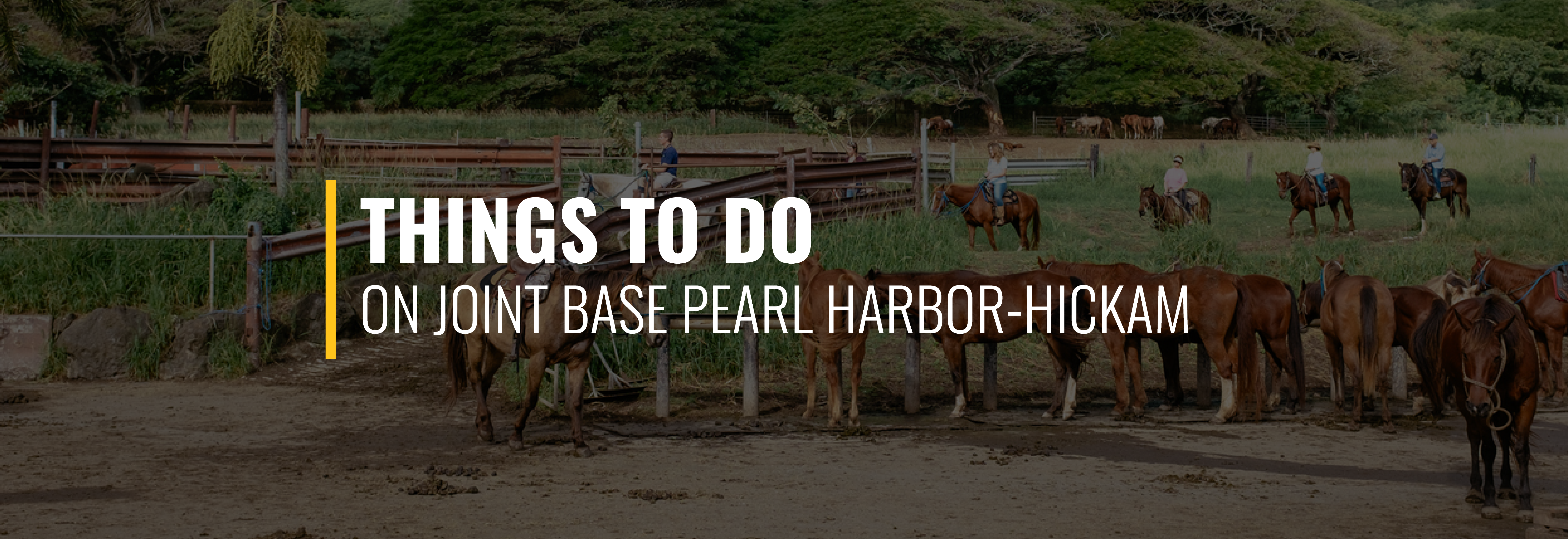 Things to Do on Joint Base Pearl Harbor-Hickam