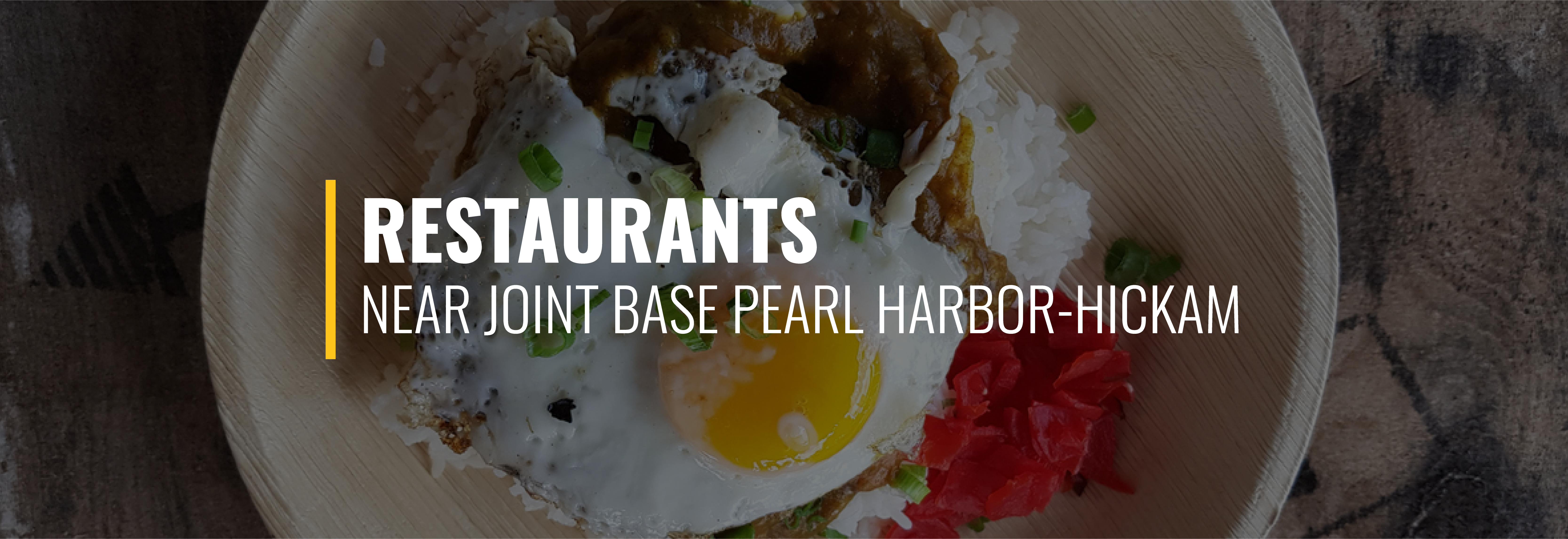 Restaurants Near Joint Base Pearl Harbor-Hickam