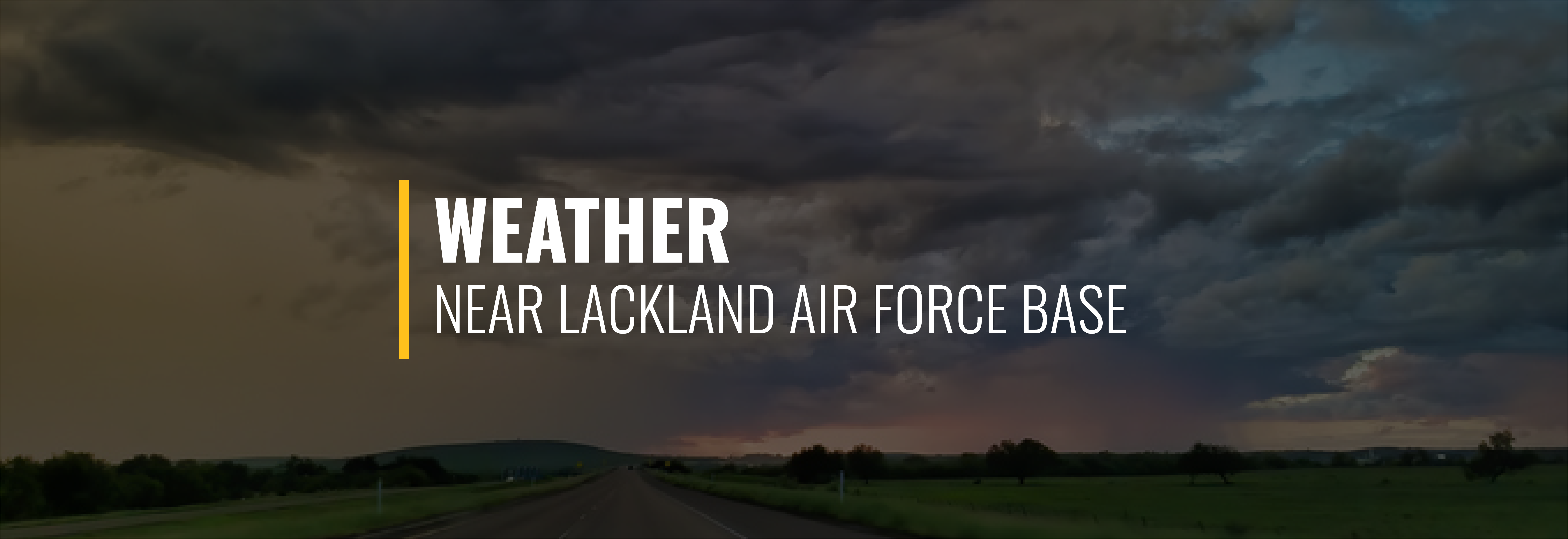 Lackland Air Force Base Weather
