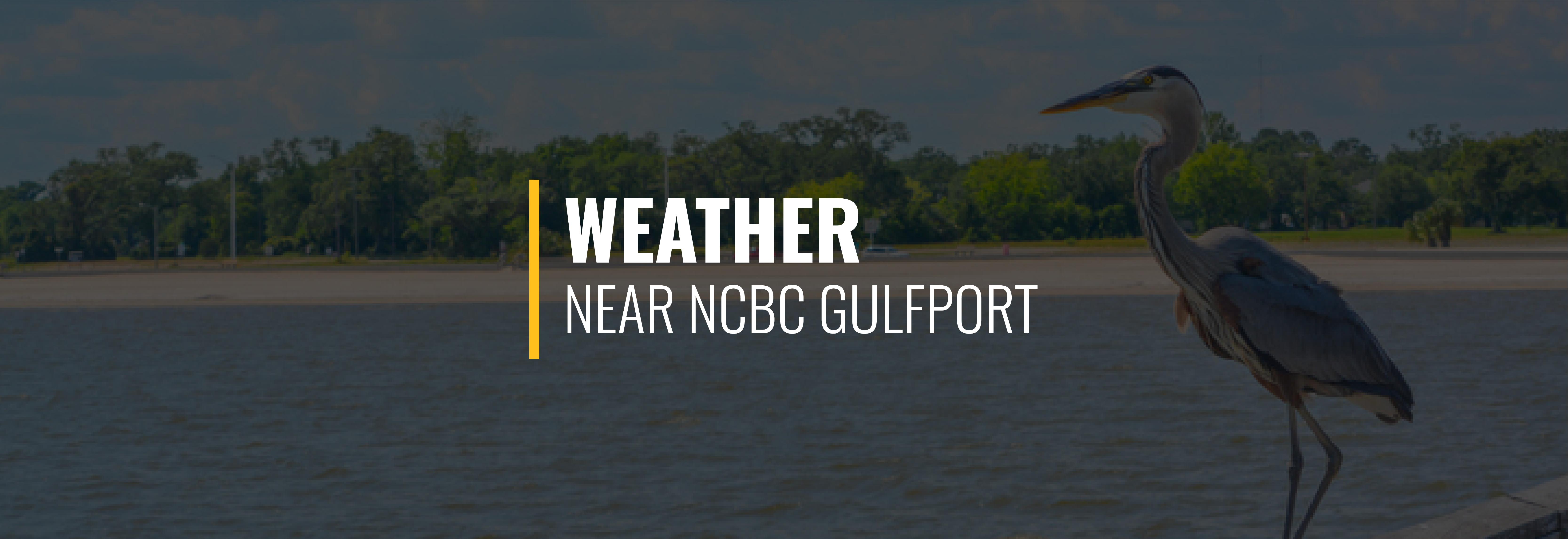 NCBC Gulfport Weather