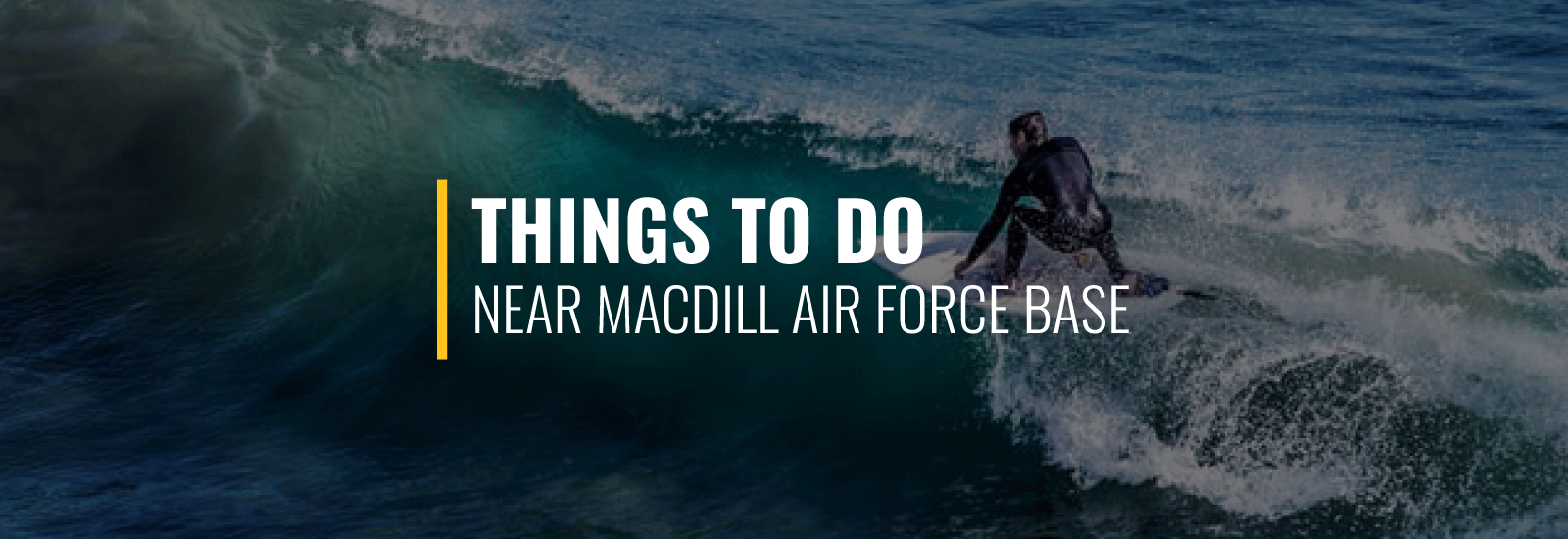 Things to Do Near MacDill Air Force Base