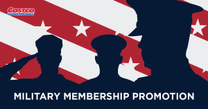 Costco is launching a nationwide membership promotion for the military community.
