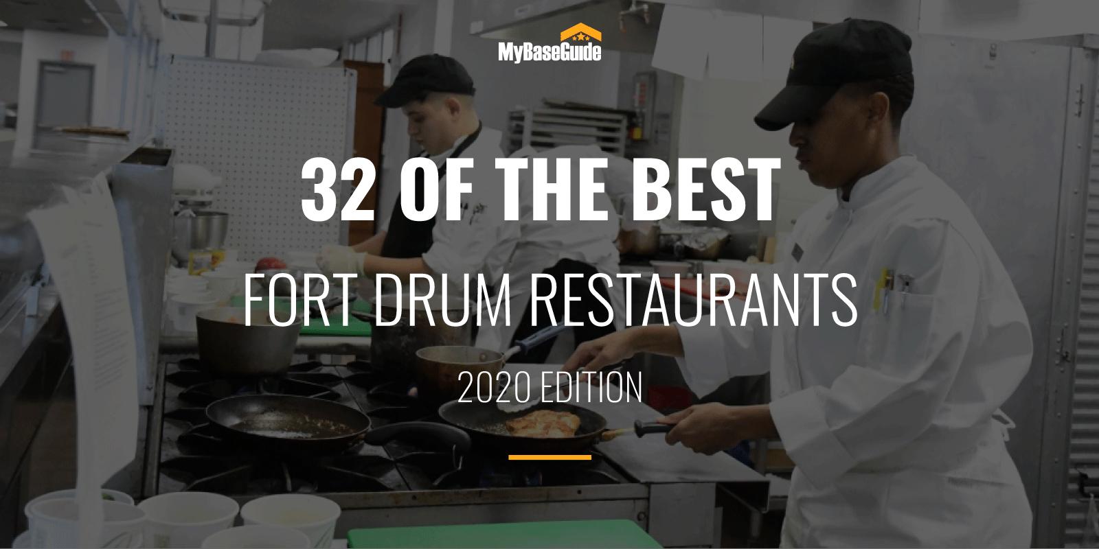 32 of the Best Fort Drum Restaurants