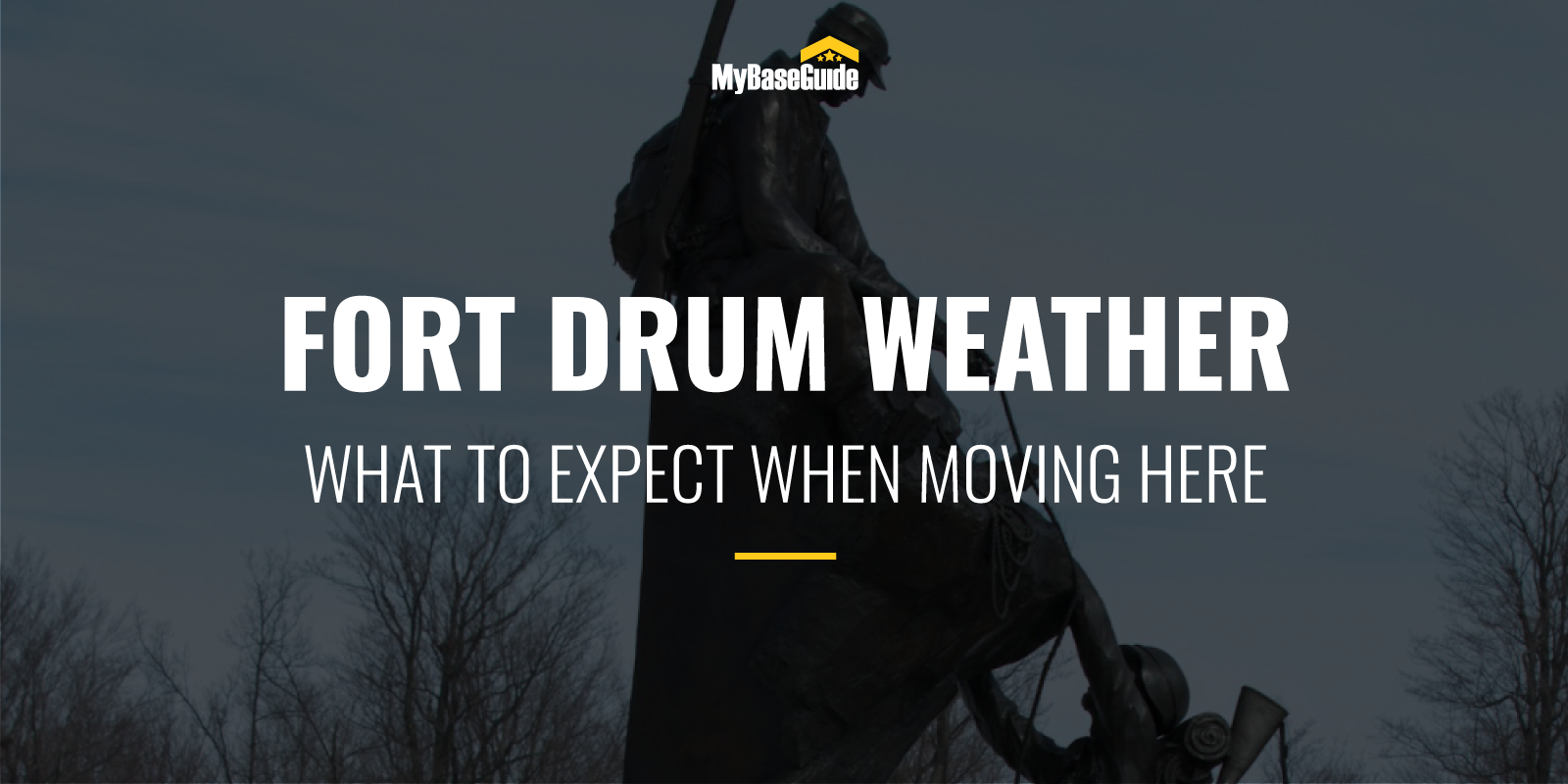 Fort Drum Weather: What To Expect When Moving Here