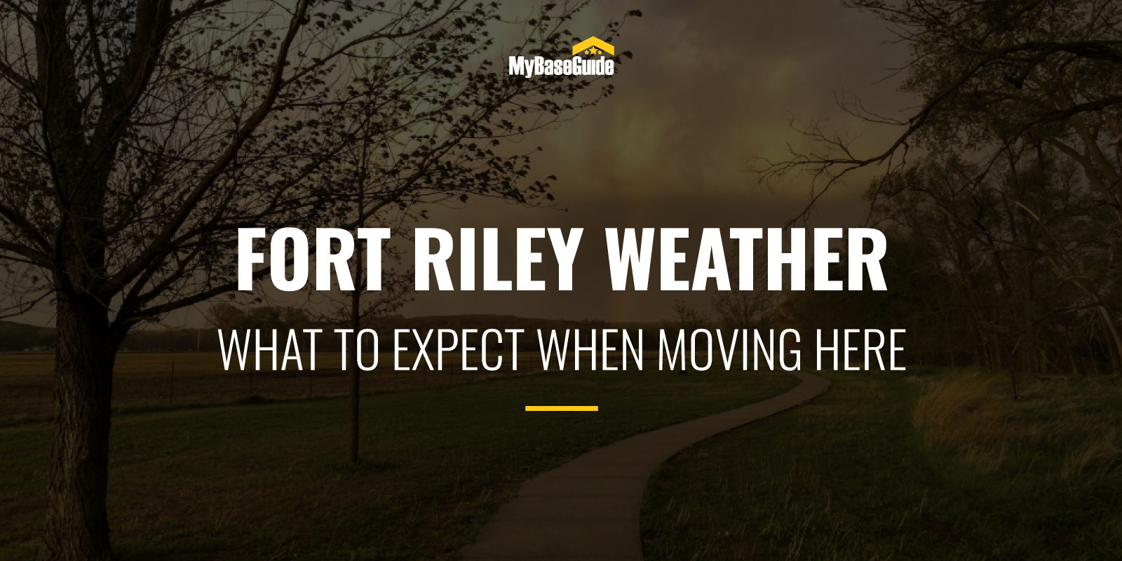 Fort Riley Weather: What To Expect When Moving Here