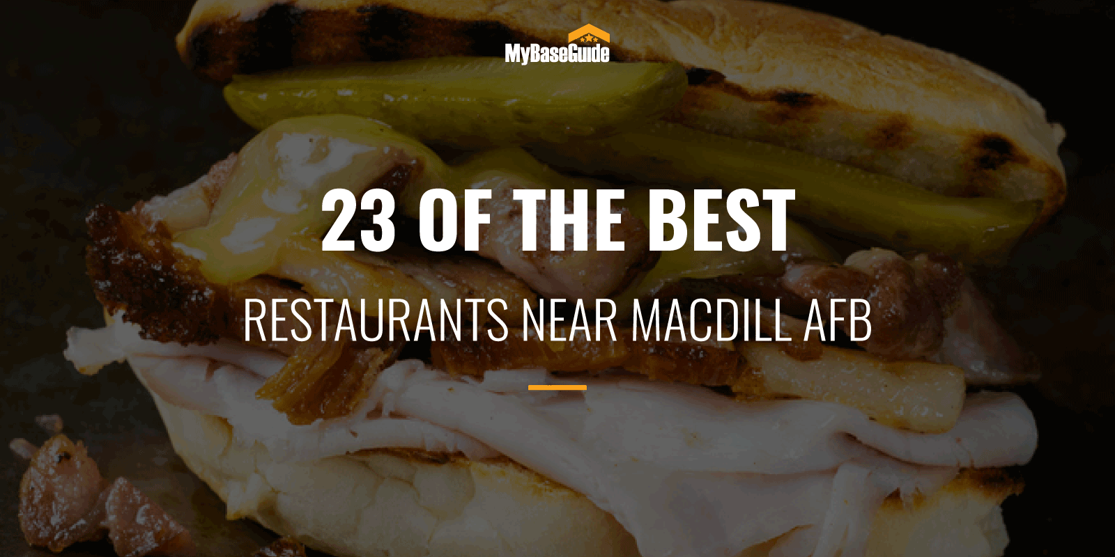 Best Restaurants Near MacDill AFB