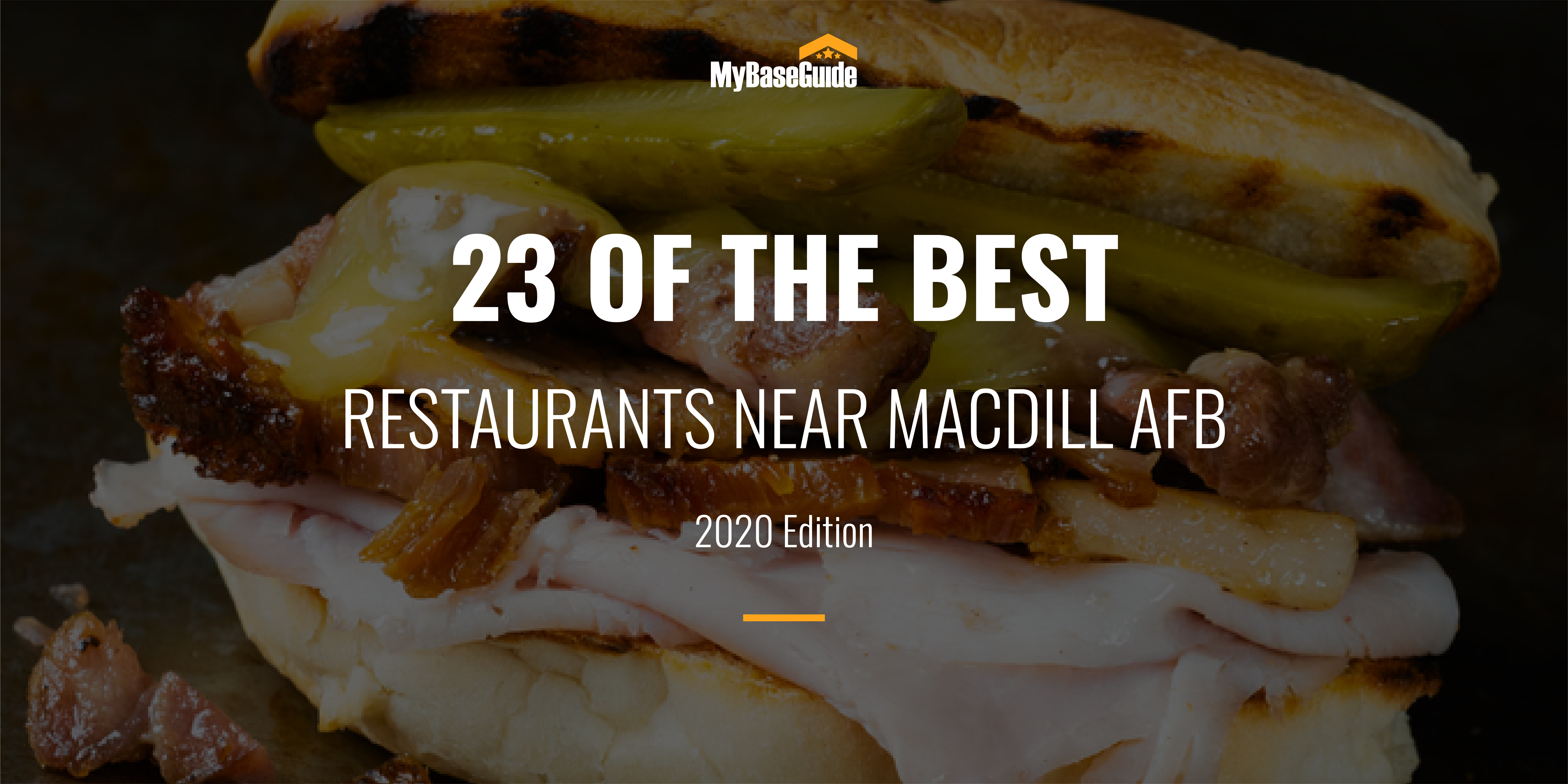23 Of the Best Restaurants Near MacDill AFB