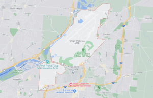 Wright-Patterson AFB Map