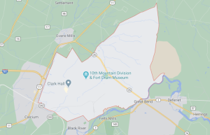 Fort Drum Map