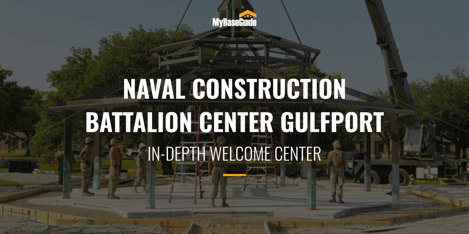 NCBC Gulfport In-Depth Welcome Center