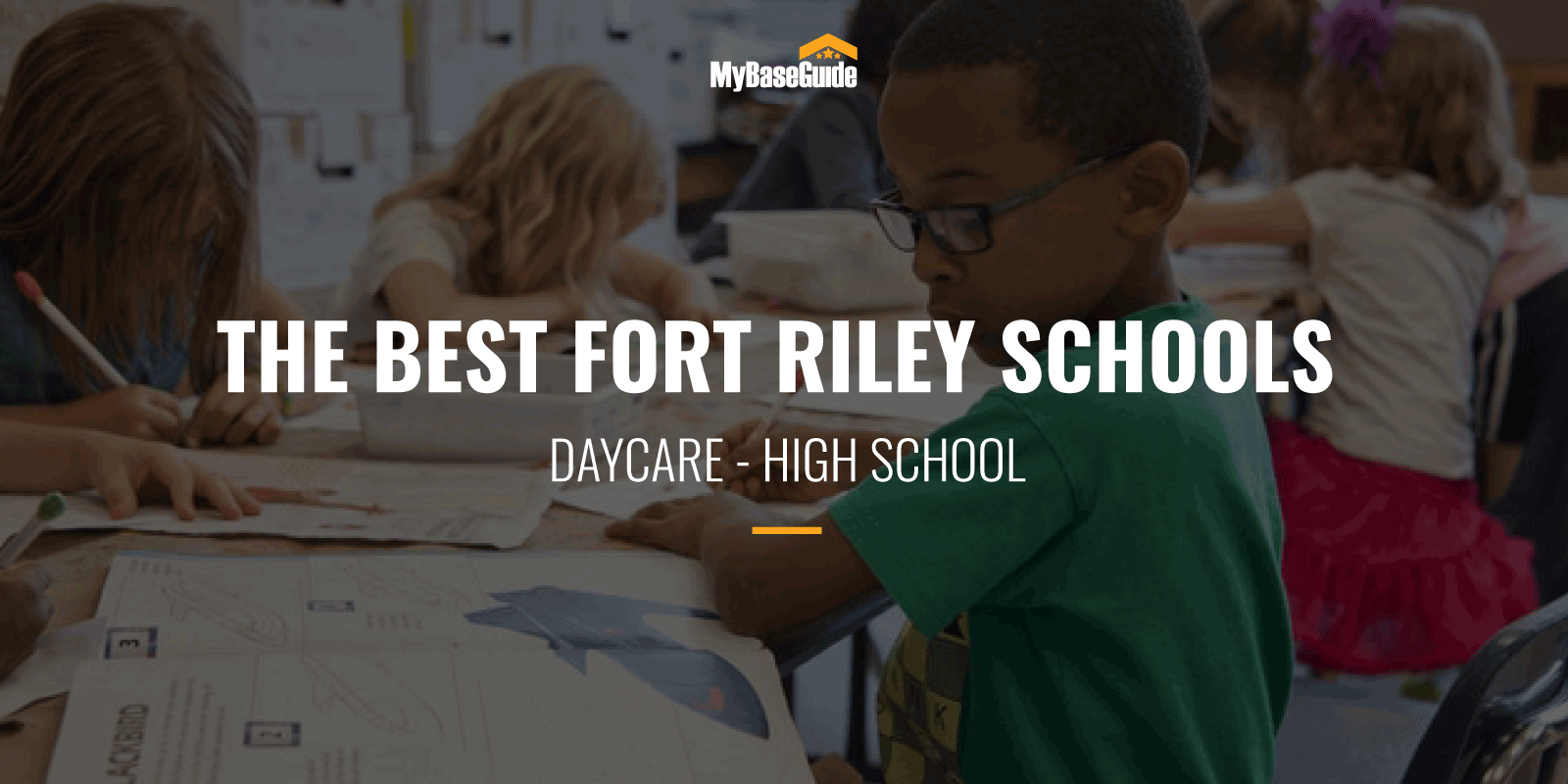 The Best Fort Riley Schools: Daycare - High School