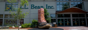 LL Bean offers a 10% military discount year-round with verification of service.