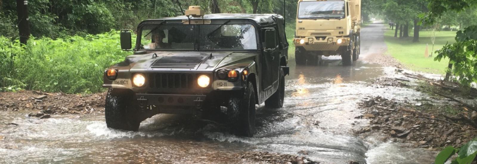 Flooding Hazards at Fort Belvoir
