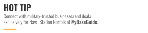 Connect with military-trusted businesses and deals exclusively at MyBaseGuide