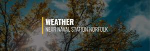 Naval Station Norfolk Weather