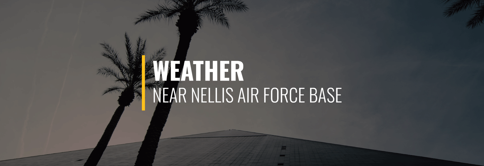 Nellis Air Force Base Weather