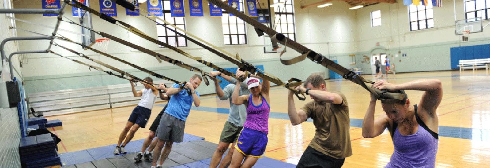 Norfolk Naval Base Gym