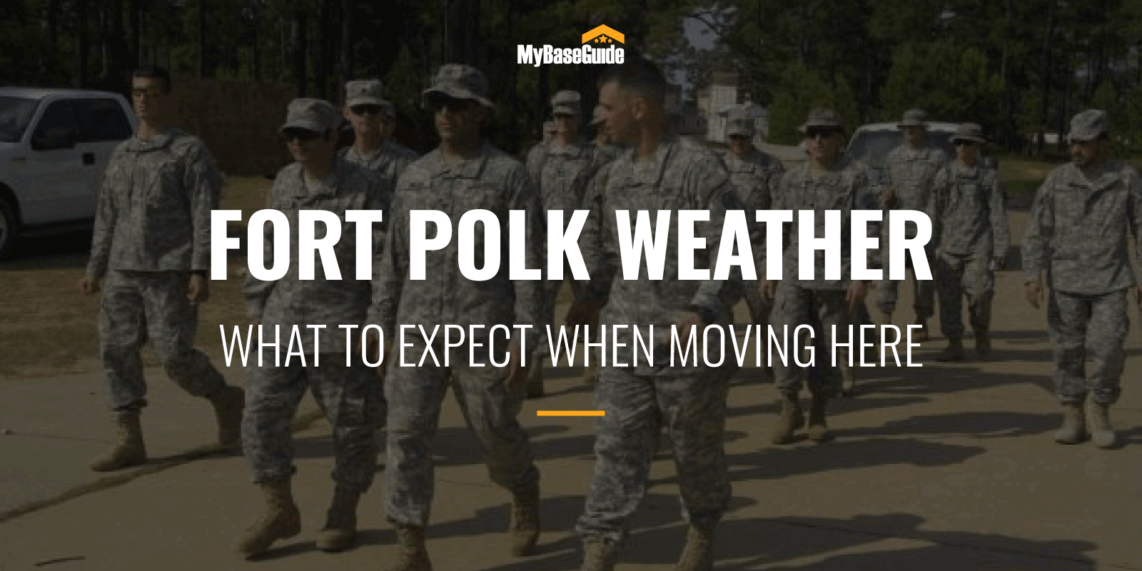 Fort Polk Weather: What To Expect When Moving Here