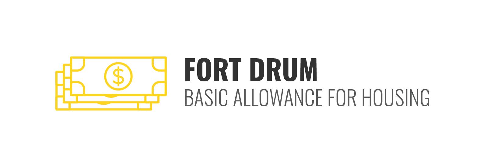 Fort Drum BAH