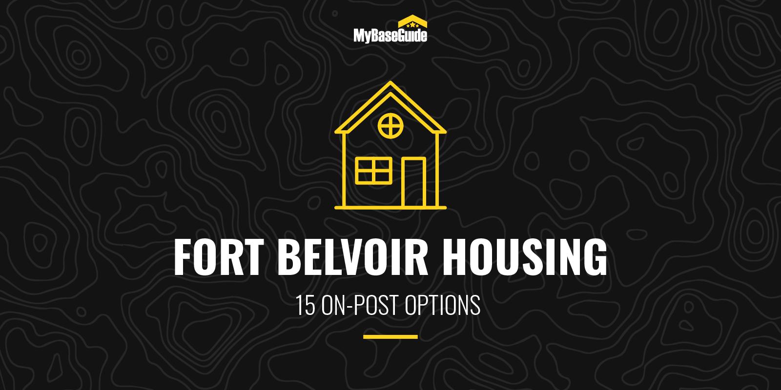 Fort Belvoir Housing: 15 On Post Options