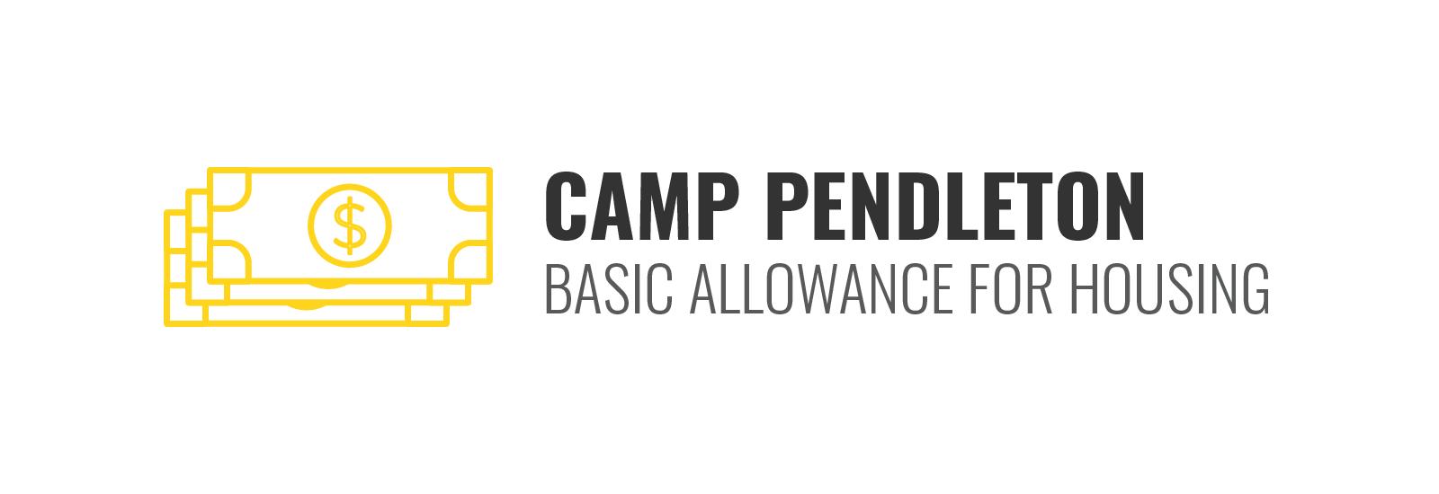 Camp Pendleton BAH