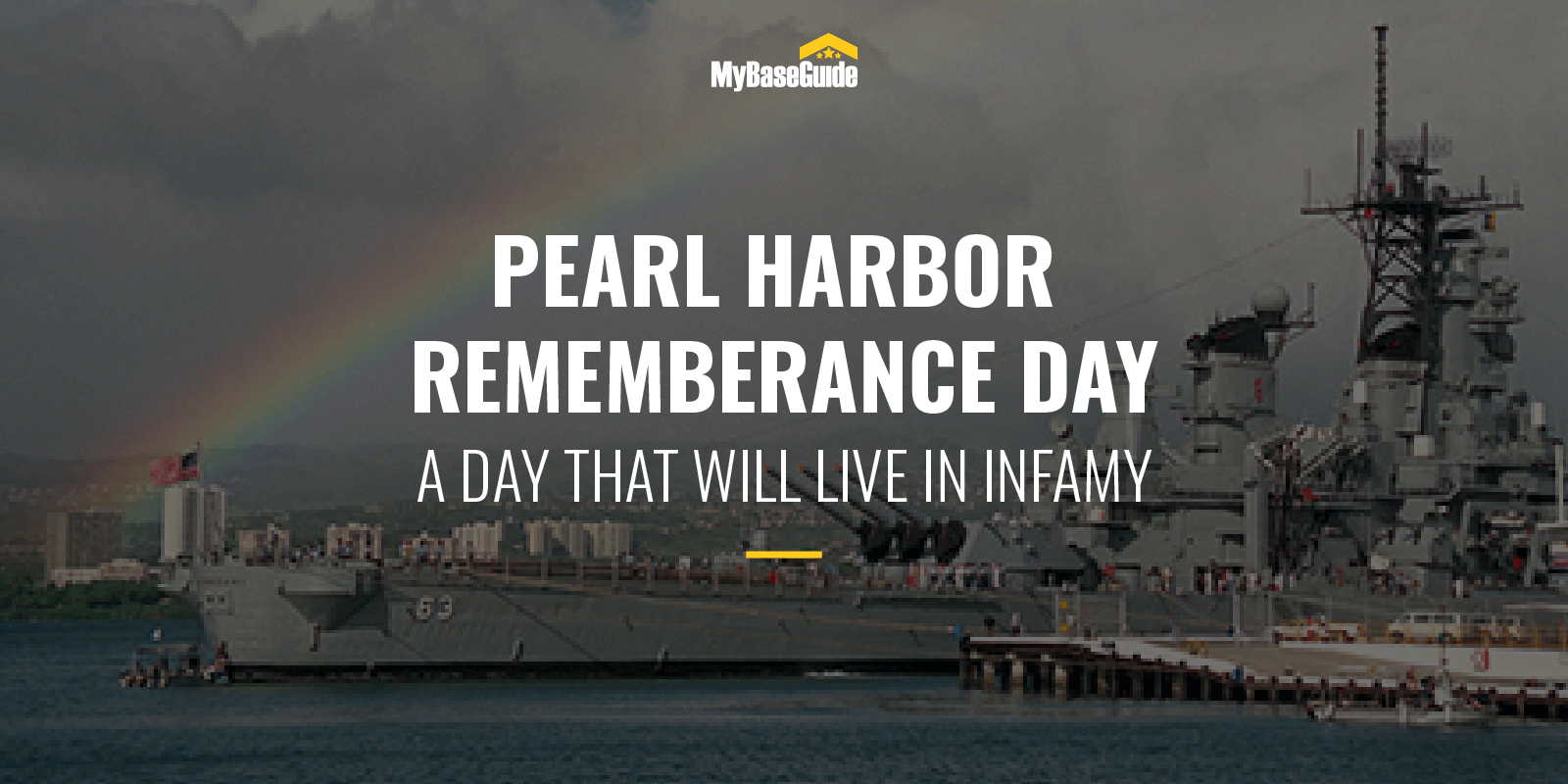 Pearl Harbor Remembrance Day, A Day That Will Live in Infamy
