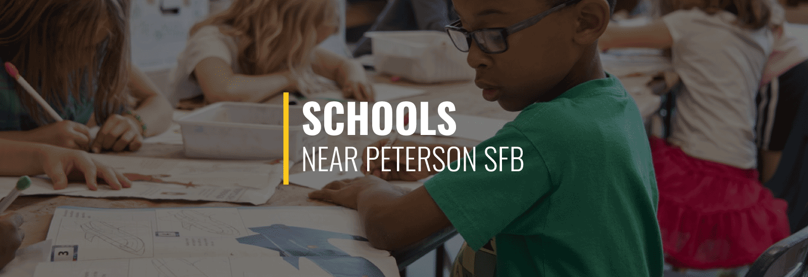 Peterson AFB (Now Peterson Space Force Base) Schools