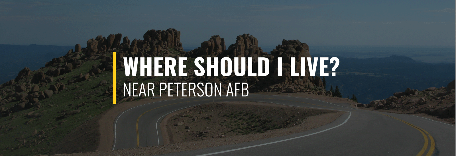 Where Should I Live Near Peterson AFB?