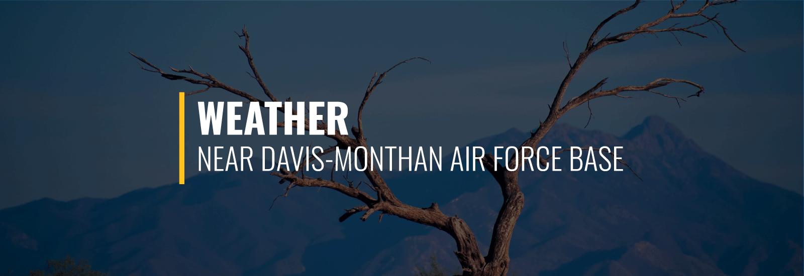 Davis-Monthan AFB Weather