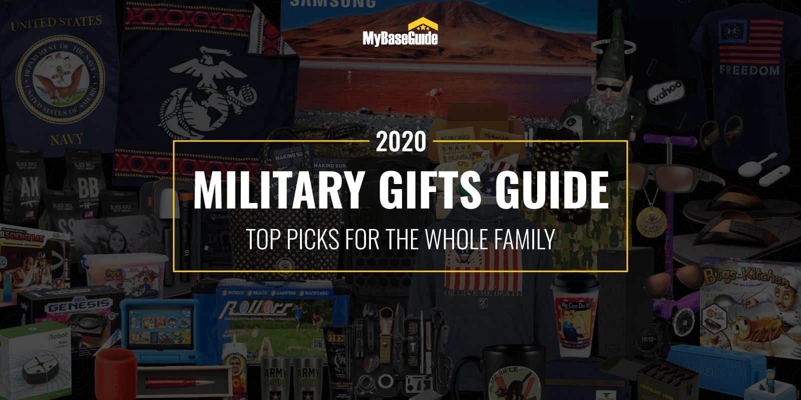 Military Gifts Guide 2020: 56 Top Picks for the Whole Family