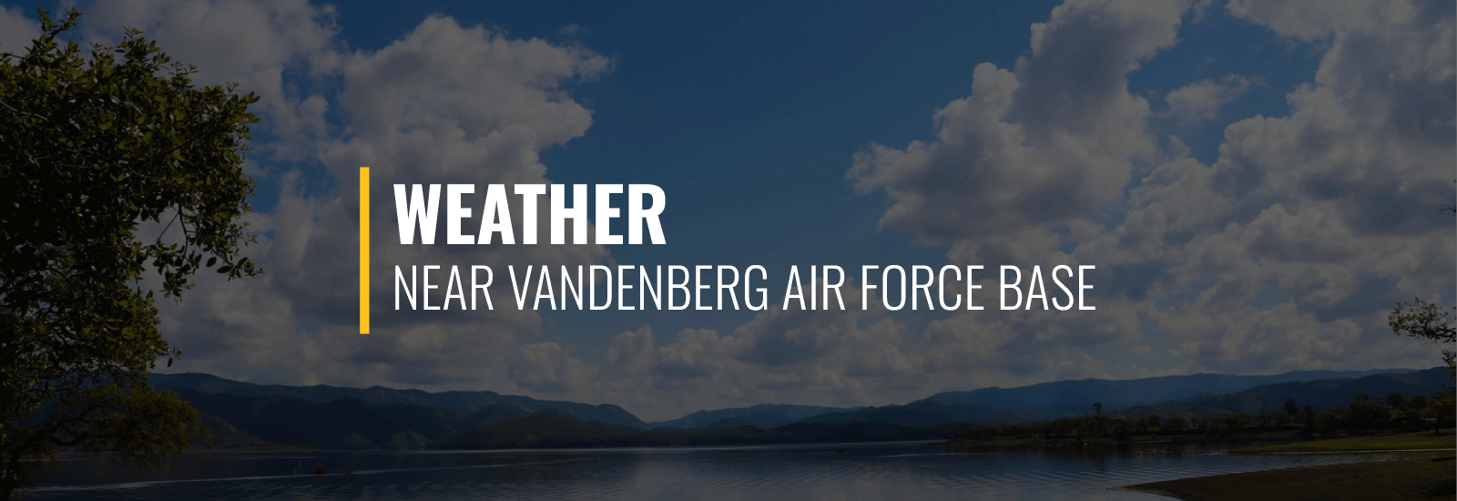Vandenberg AFB Weather