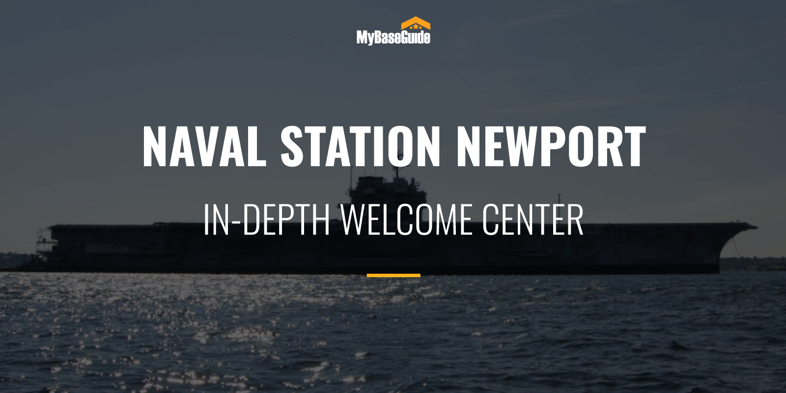 Naval Station Newport: In-Depth Welcome Center