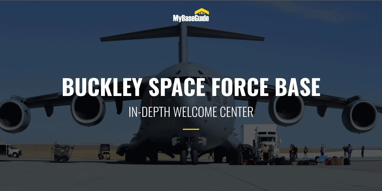 Buckley AFB Welcome Center (Now Buckley Space Force Base)