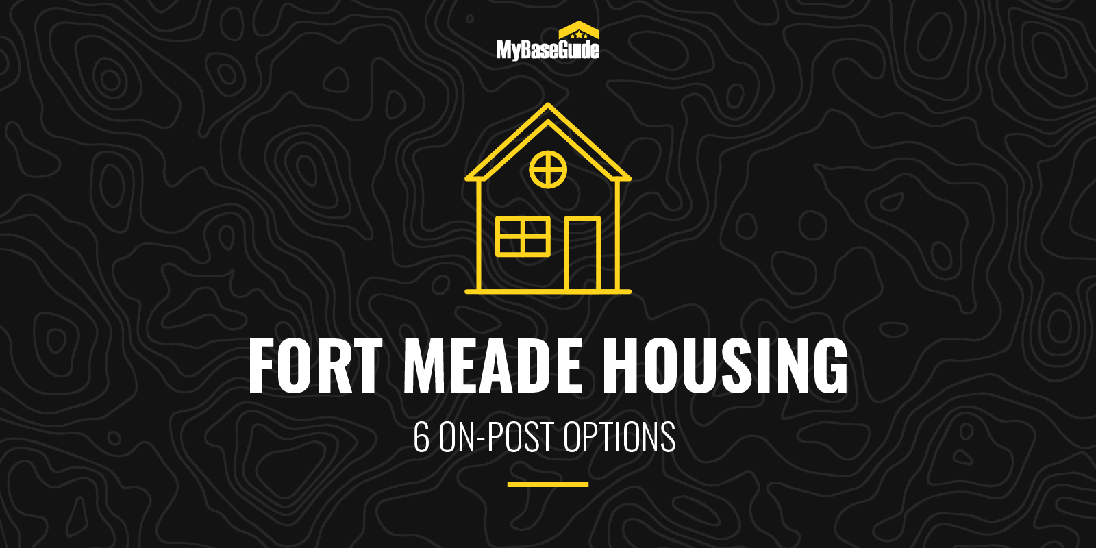 Fort Meade Housing: 6 On Post Options