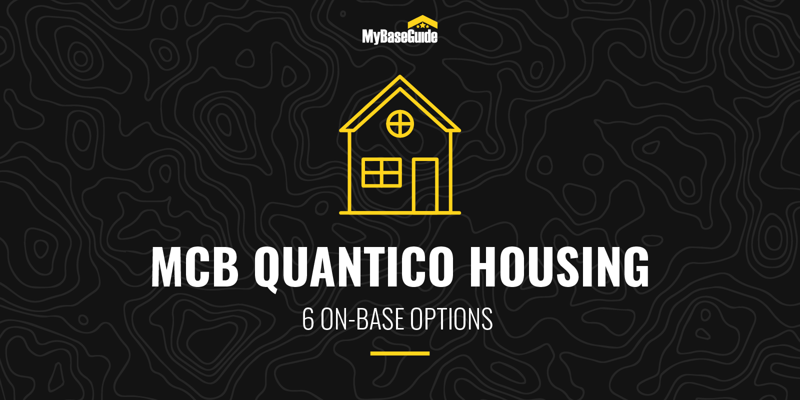 MCB Quantico Housing: 6 On Base Options